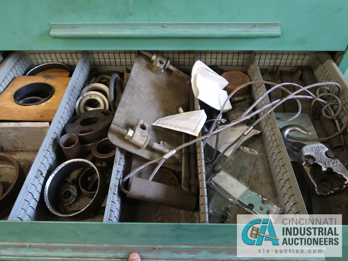 """45"""" W NU-ERA 8-DRAWER TOOLING CABINET WITH CONTENTS - Image 3 of 4"""