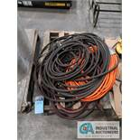 (LOT) SKID OF MISC. AIR HOSE
