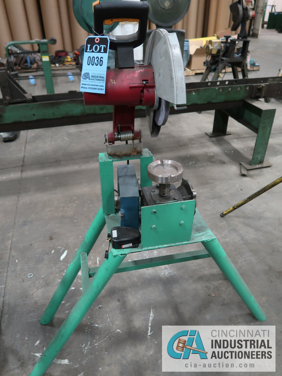 """14"""" CHICAGO ELECTRIC CUT OFF SAW"""