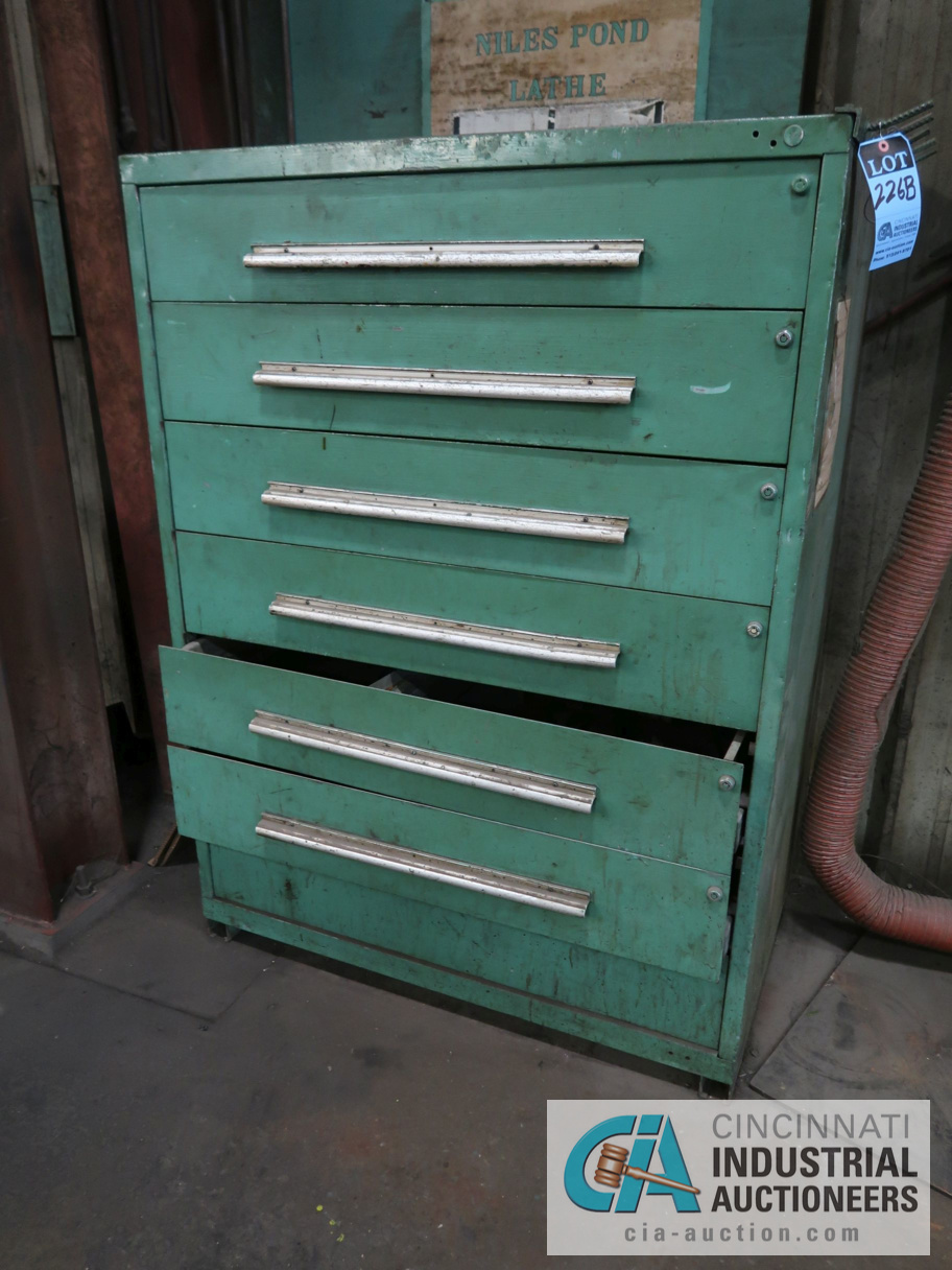 """45"""" W 7-DRAWER TOOLING CABINET"""