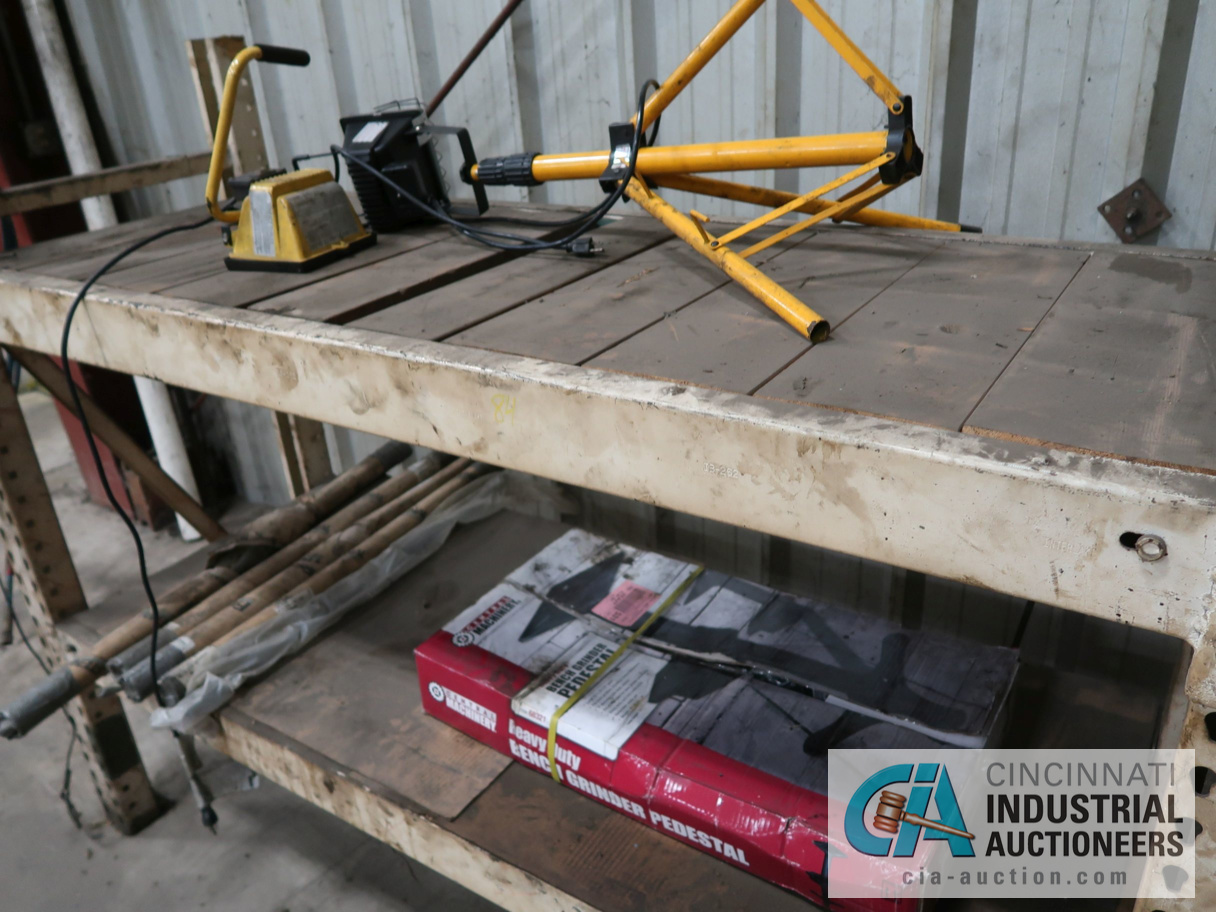 SECTIONS OF MISC. SIZE PALLET RACK WITH CONTENTS - Image 5 of 5