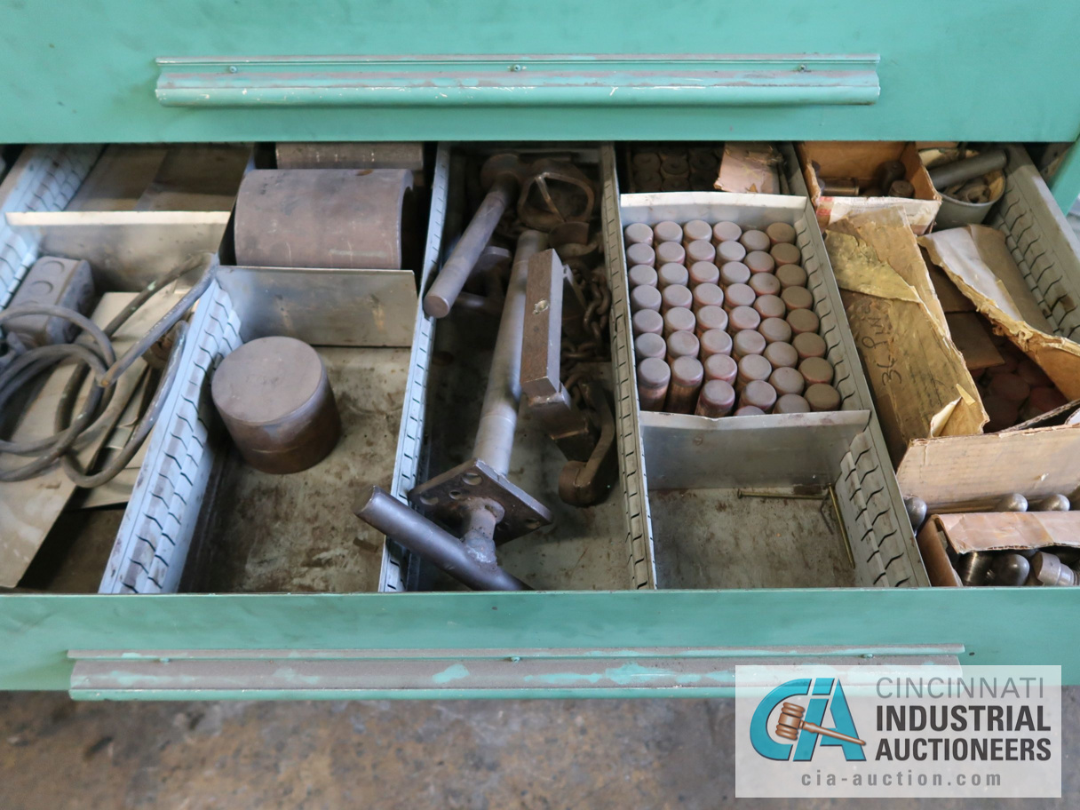 """45"""" W NU-ERA 8-DRAWER TOOLING CABINET WITH CONTENTS - Image 4 of 4"""