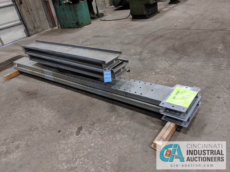 """SECTION DOUBLE SIDED CANTILEVER RACK, 142"""" TALL, (8) 36"""" ARMS - Image 4 of 4"""
