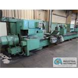 "64"" X 22' MONARCH ENGINE LATHE; S/N 46883-NC, APPROX. 50"" SWING OVER CROSS SLIDE, APPROX. 60"""