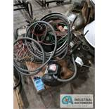 (LOT) SKID OF ELECTRIC MOTORS & WIRE