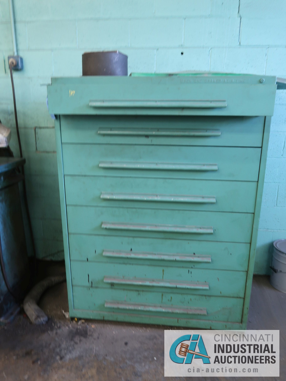 """45"""" W NU-ERA 8-DRAWER TOOLING CABINET WITH CONTENTS"""