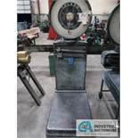 1,600 LB TOLEDO MODEL 2181 PORTABLE PLATFORM SCALE; S/N 15162