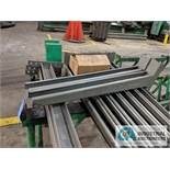 "SECTION DOUBLE SIDED CANTILEVER RACK, 142"" TALL, (8) 36"" ARMS"