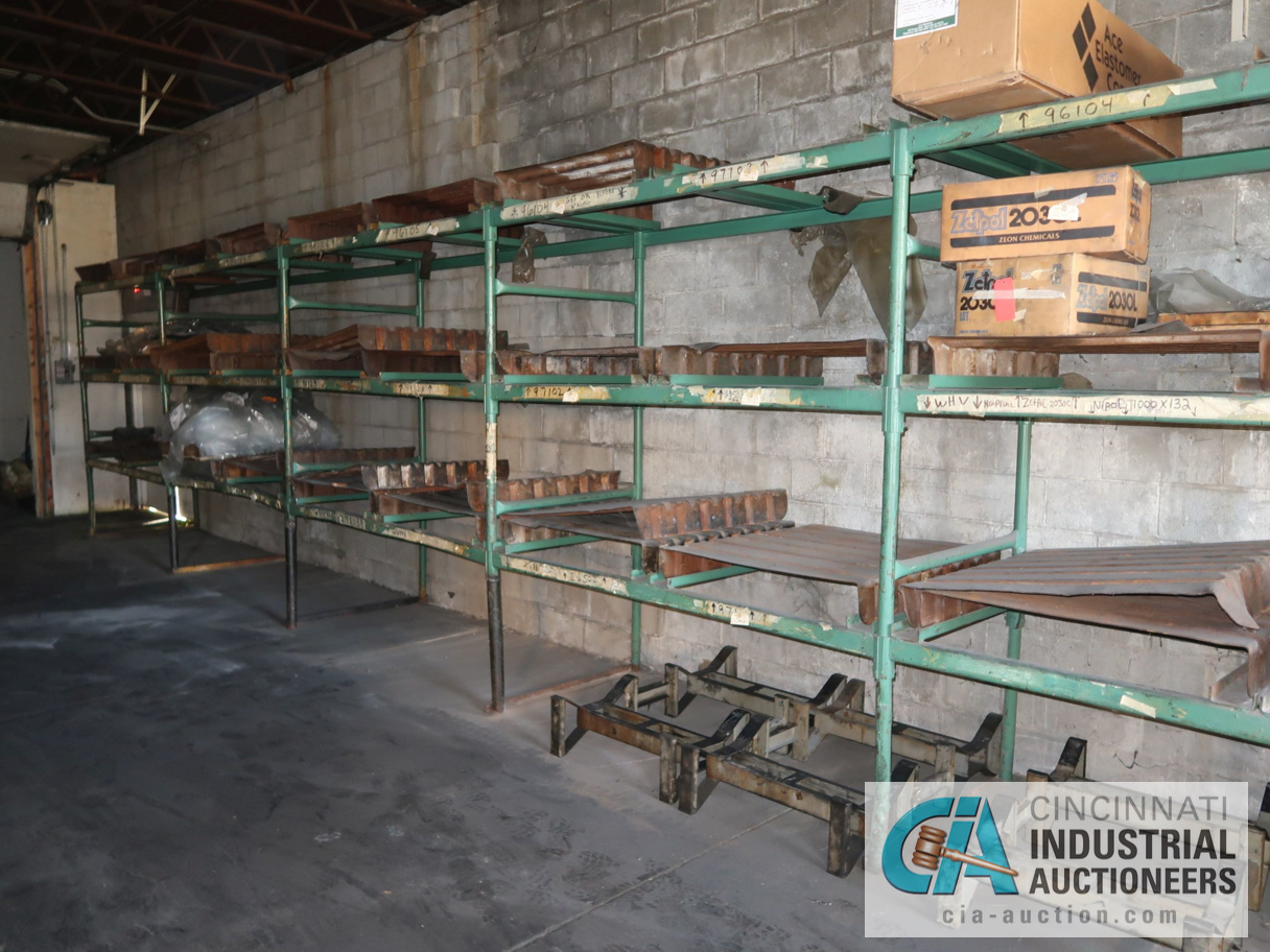 (LOT) TUBULAR FRAME RACK IN (2) ROOMS, APPROX. (17) SECTIONS WITH METAL SKIDS - Image 2 of 4