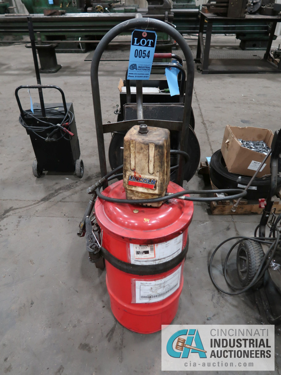 LINCOLN PNEUMATIC GREASE APPLICATOR