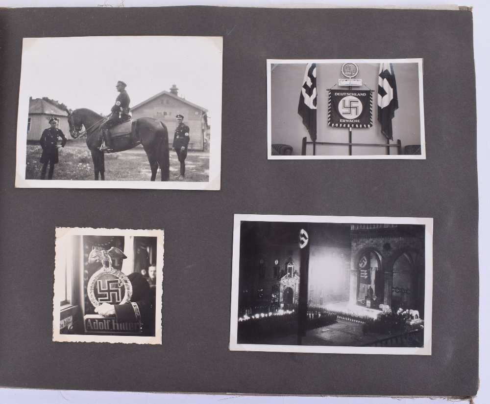Lot 259 - Historic Original Photograph Album Belonging to Eva Braun