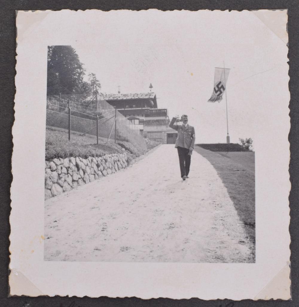 Lot 259 - Historic Original Photograph Album Belonging to Eva Braun