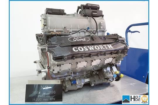 Cosworth XB display engine Although it had a 80-degree V-8