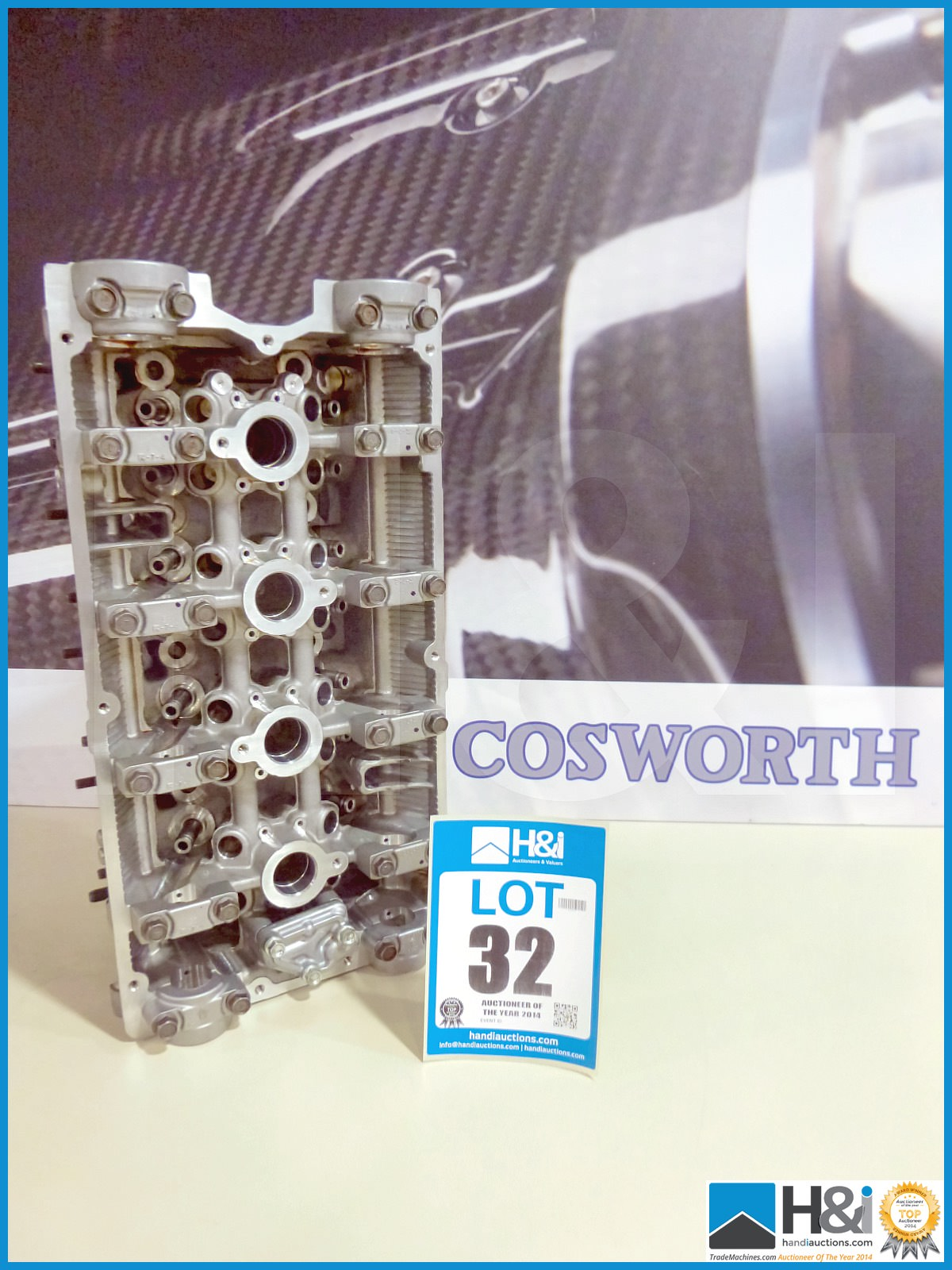 Mitsubishi Evo 9 ported cylinder head  Appx value GBP 1700