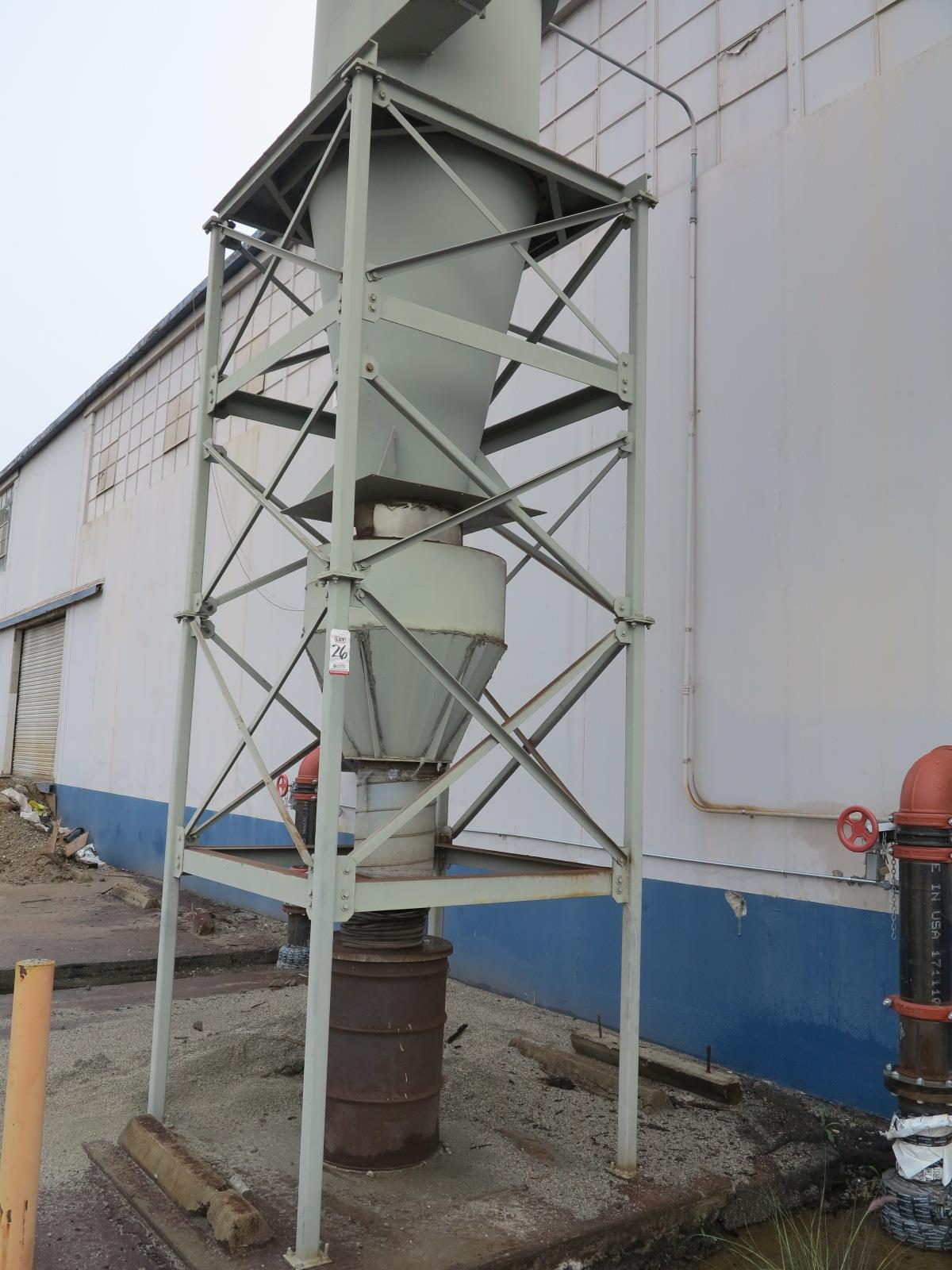 Lot 26 - UNITED AIR SPECIALISTS, INC. DUST HOG DUST COLLECTOR, MODEL C4450-1D, S/N 60020975
