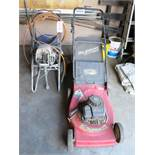 LOT - MURRAY 3.75 HP LAWNMOWER AND WAGNER PORTABLE PAINT SPRAYER