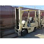 TOYOTA LP FORKLIFT, OUT OF SERVICE
