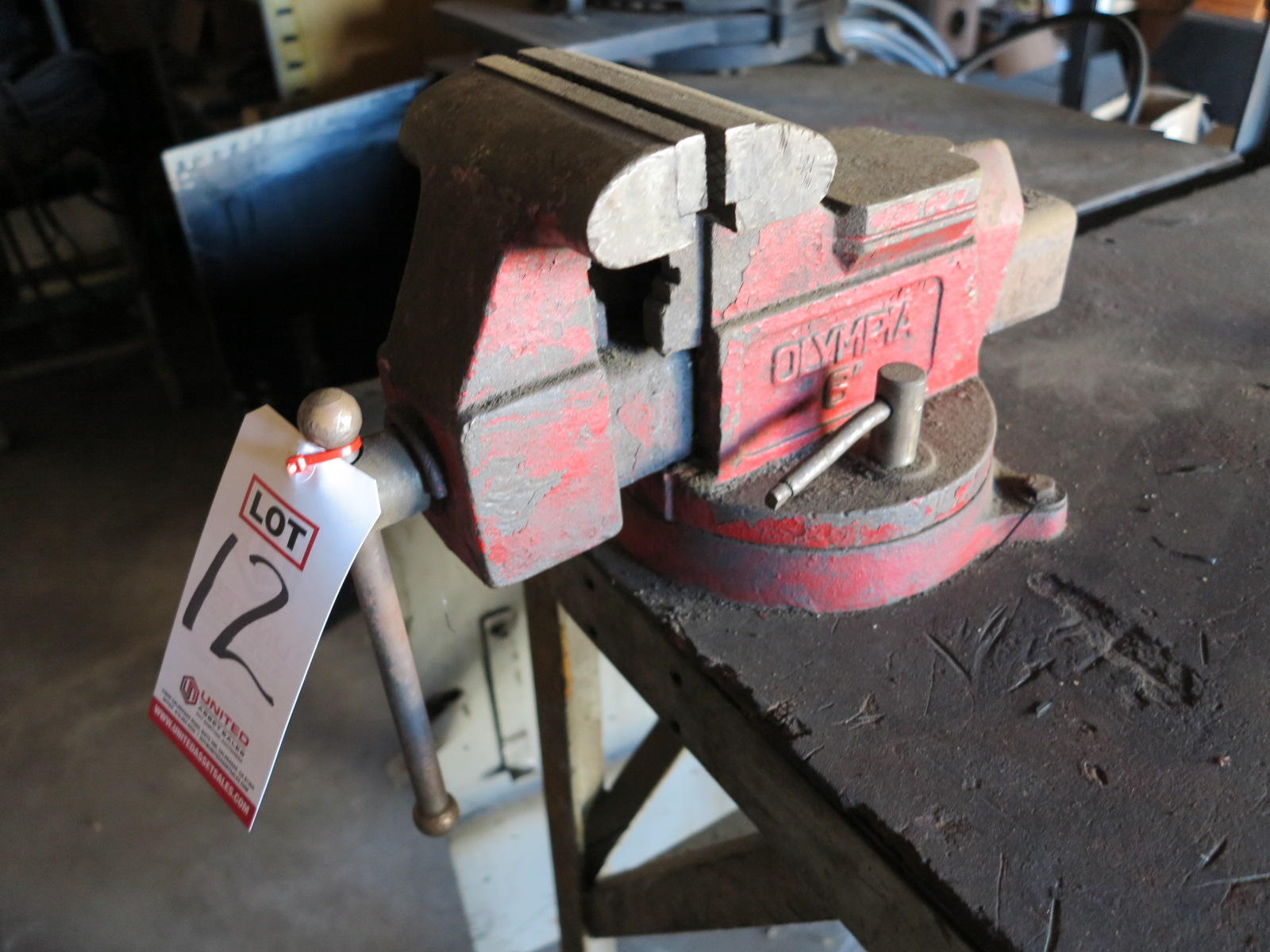 """Lot 12 - OLYMPIA 6"""" BENCH VISE"""