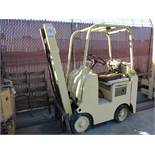 TOWMOTOR 2,000 LB LP FORKLIFT, OUT OF SERVICE
