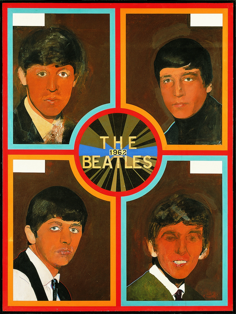 Lot 5A - Sir Peter Blake (b.1932) - The Beatles, 1962, 2012, 20 colour screen print, printed on Somerset