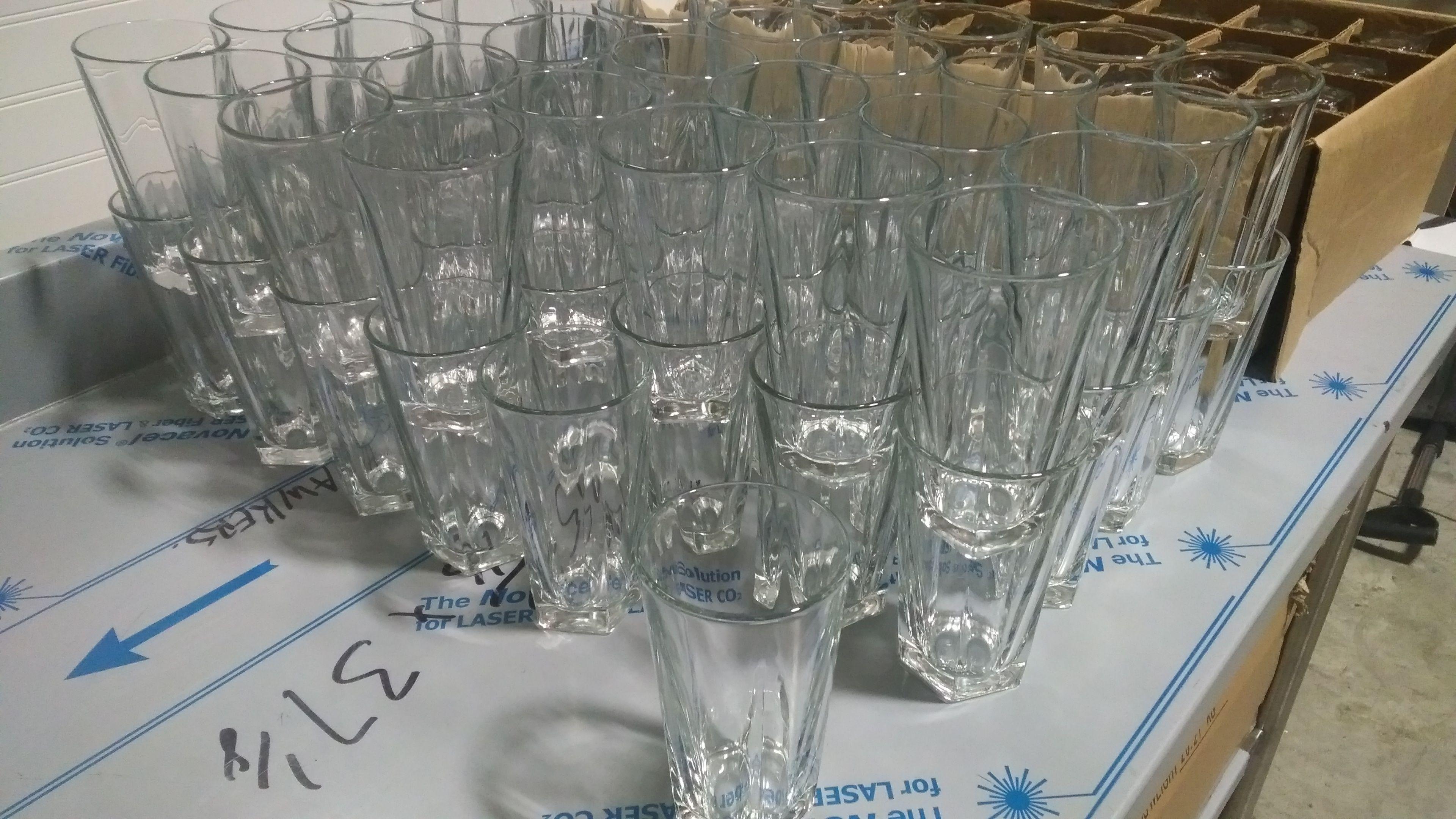 Lot 14 - Libbey 16oz DuraTuff Cooler Glasses - Lot of 67