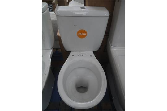f0400b3327 Roca Polo Zoom toilet and cistern with flush system