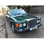 """1989 BENTLEY 56k MILES - PRIVATE PLATE """"20 CO"""" 2 PREVIOUS OWNERS FROM NEW - NEW MOT TO MARCH 2019"""