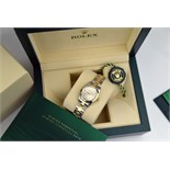 ROLEX Oyster Perpetual - 18k Gold & Steel - Light Champagne Dial