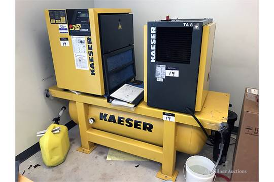 Kaeser Rotary Air Compressor w/ Integrated TA8 Air ... on