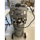 Oil Free Air Compressor, By Aliforina, Model: 1002C w/ Dispensing Gun