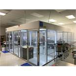 Terra Universal Critical Environment Solutions Modular Clean Room w/ 3 Entry Doors, Approx. 16' x