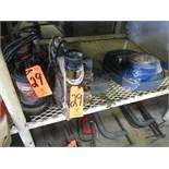 Lot - (2) Sump Pumps; with Water Hose