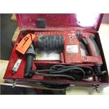 Milwaukee Thunderbolt Electric Chipper; with Case