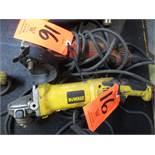 Lot - (2) Electric Angle Grinder; (1) Milwaukeee and (1) DeWalt