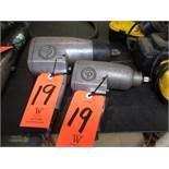 Lot - (2) Chicago Pneumatic Impact Drivers
