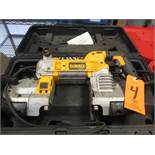 DeWalt Model DWM120 Electric Portable Band Saw; (May Need Repair), with Case