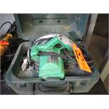 Hitachi 7-1/4 in. Model C7SB2 Electric Circular Saw; with Case