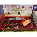 Milwaukee Model 1001-1 Heavy Duty Electric Right Angle Drill; with Case