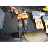 Lot - (2) Pneumatic Descalers