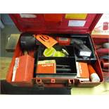 Hilti Model DX600N Heavy Duty Powder Actuated Nail & Stud Gun; with Case