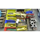 ASSORTED DRILLS, REAMERS, V BLOCKS, SHIMS