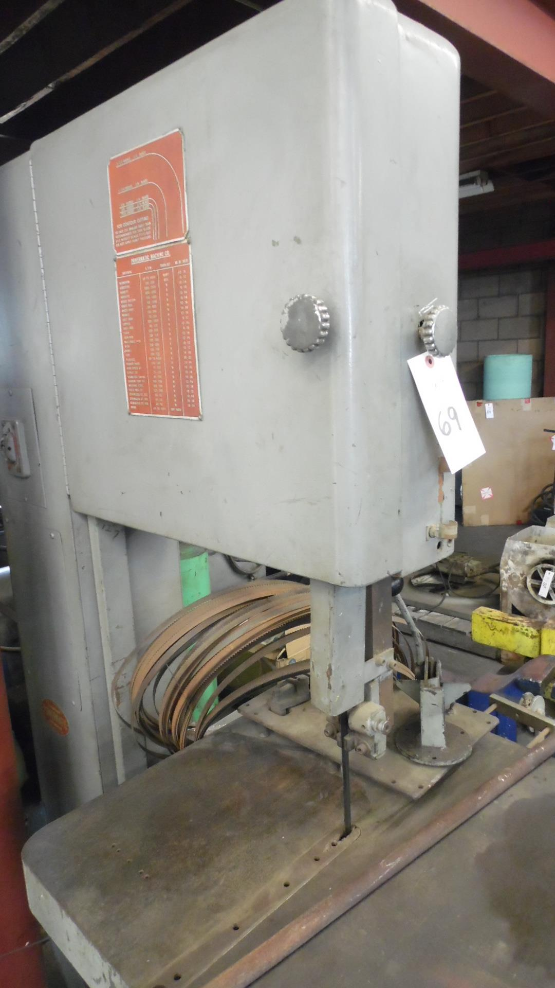 Lot 69 - POWERMATIC VERTICAL BANDSAW MODEL 86