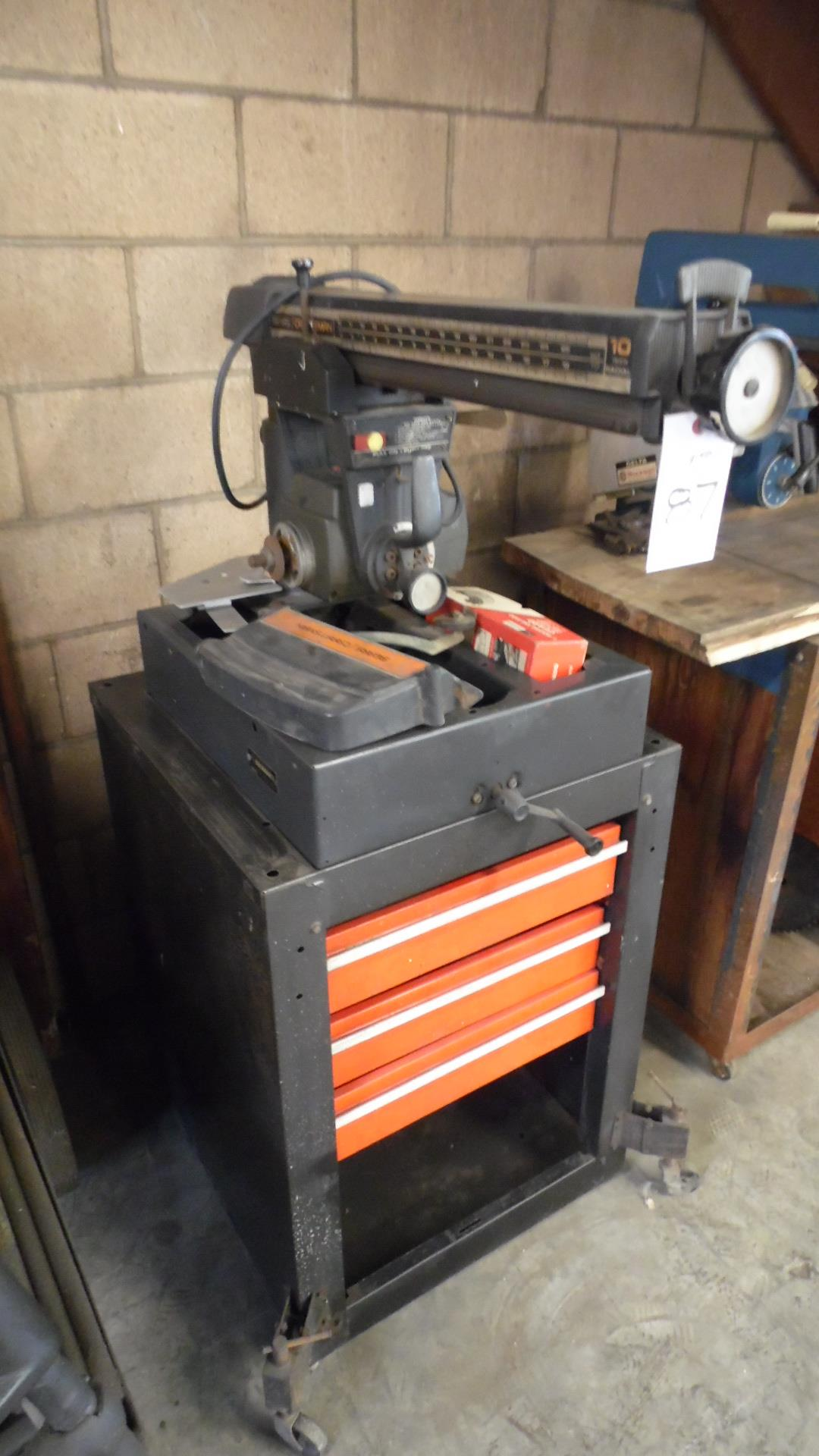 Lot 87 - SEARS RADIAL ARM SAW