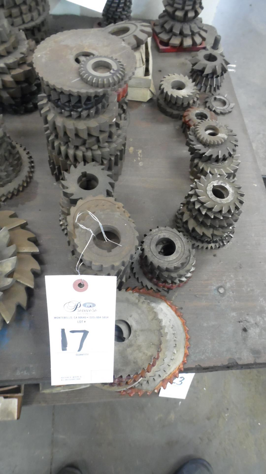 Lot 17 - ASSORTED CUTTERS