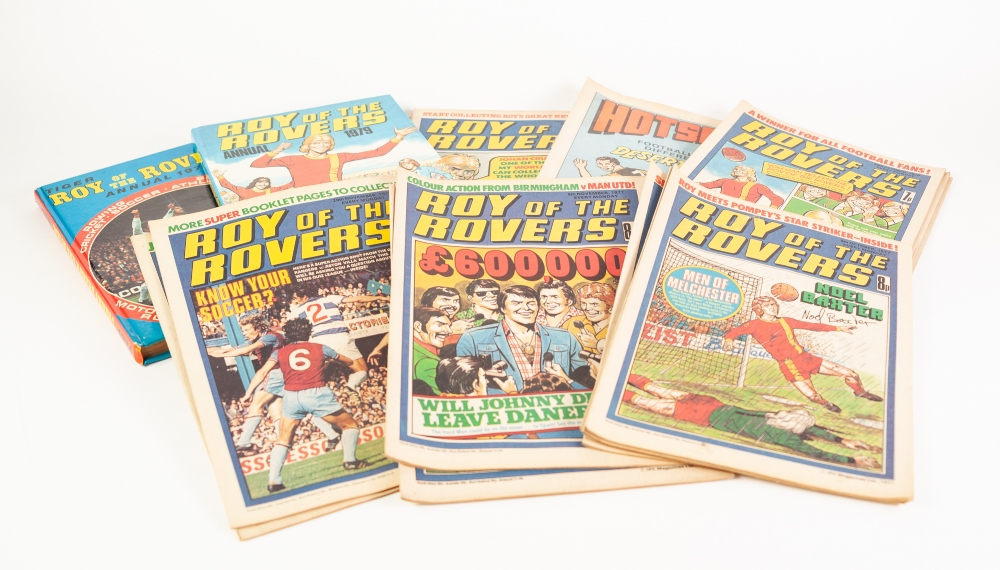 Lot 107 - 88 'ROY OF THE ROVERS' COMICS from 1977 to 1984 AND 2 'ROY OF THE ROVERS' ANNUALS 1974 AND 1979