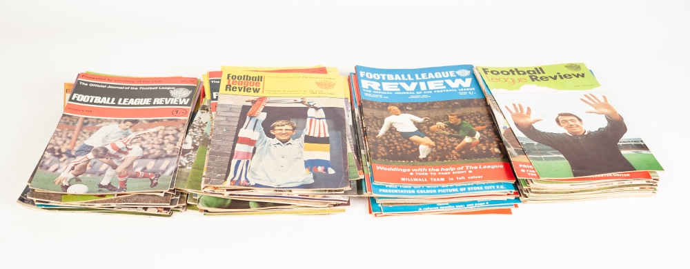 Lot 88 - QUANTITY OF FOOTBALL LEAGUE REVIEWS (94)