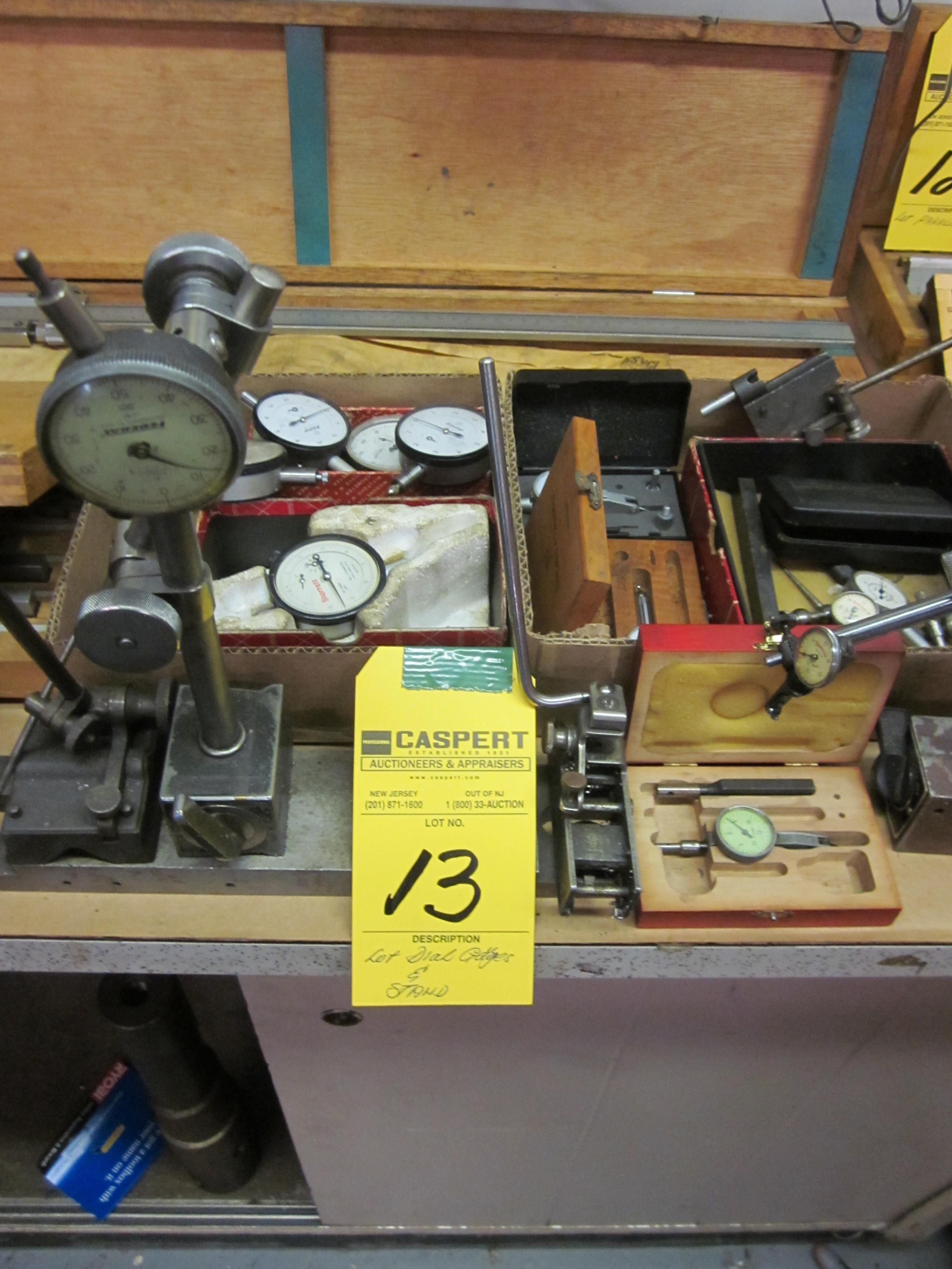Lot 13 - LOT - DIAL GAUGES & STAND