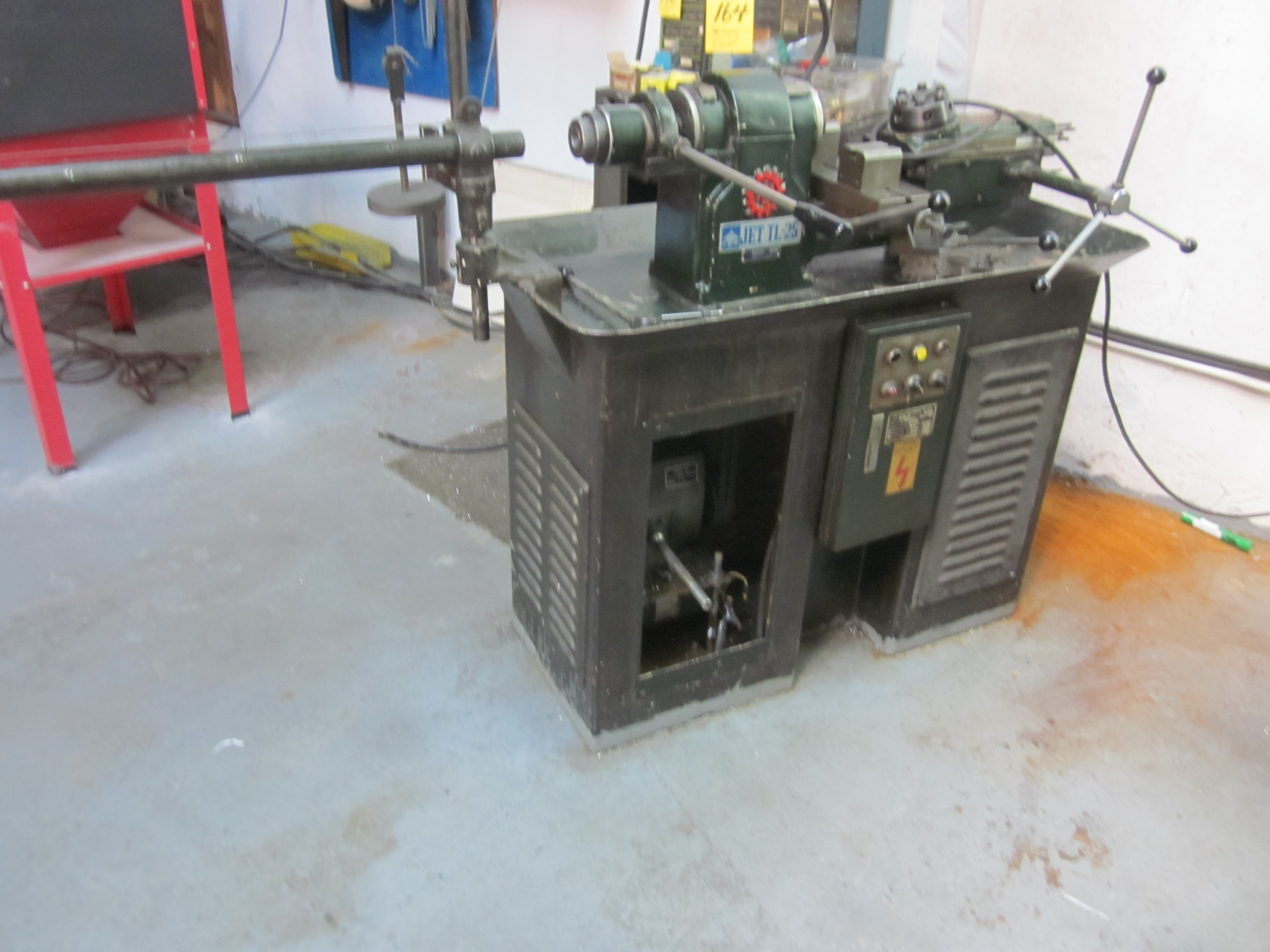 Lot 164 - JET TL-25 TURRET LAHE, NO. 682901