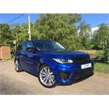 2015 RANGE ROVER SPORT SVR AUTO **ONE OWNER FROM NEW**10% BUYERS PREMIUM**