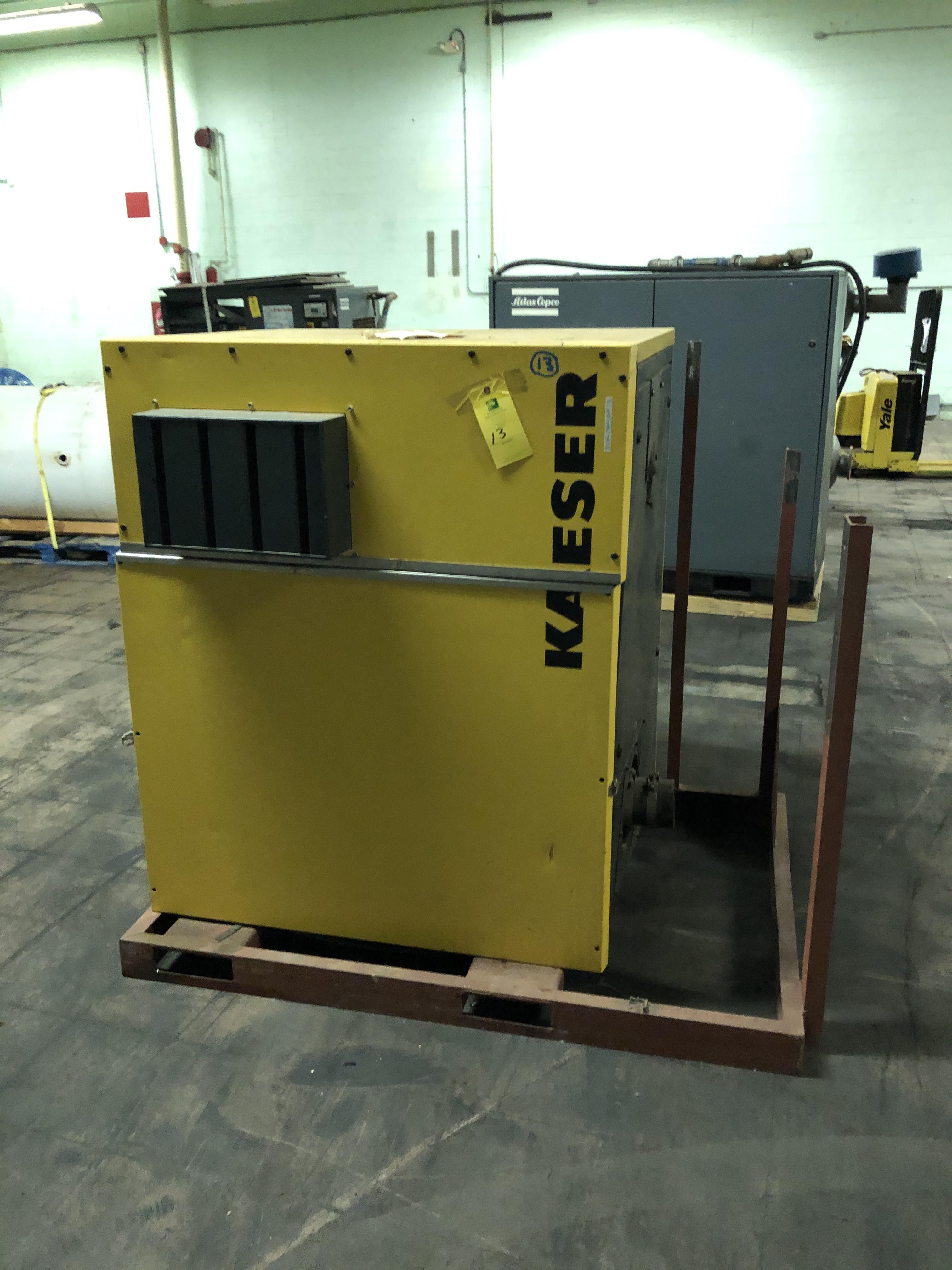 Kaeser Model #AS-44 Air Compressor, Hours N/A, RIGGING FEE - $150